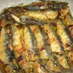 Receita de Sardinhas á tanoeiro