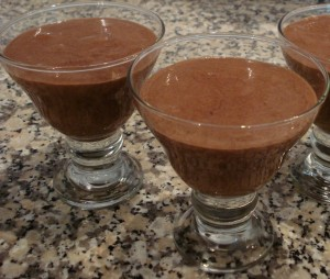 Receita de Mousse de Chocolate