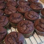 Receita de Queques de Chocolate