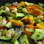 Receita de Salteado de Legumes