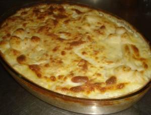 Receita de Soufflé de Bacalhau