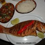 Receita de Red Fish com Tomate Agridoce