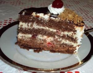 Receita de Bolo de Chocolate as camadas