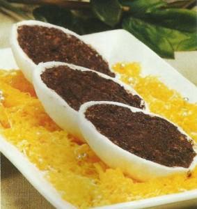 Receita de Ovos de Massa de Amendoa e Salame