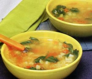 Sopa de Nabiças a Portuguesa