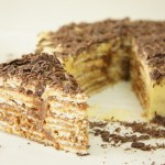 Receita de Bolo de Bolacha e Chocolate