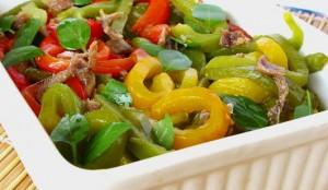 Receita de Salada de Atum e Pimentos