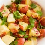 Receita de Batata, Bacon e Ervas Frescas