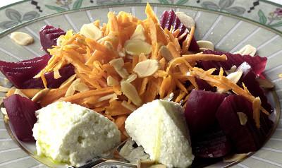 Receita de Salada de Massa, Brocolos e Beterraba