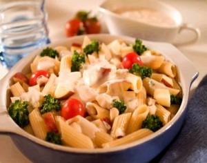 Receita de Salada de Massa Brocolos e feijao