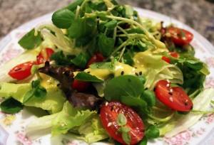 Receita de Salada Verde à Italiana