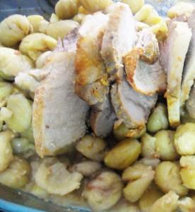 Receita de Carne de Porco com Castanhas