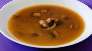 Receita de Sopa de Legumes com Cogumelos