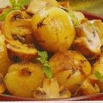 Receita de Cebolinhas Estufadas com cogumelos