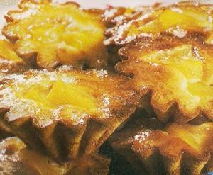 Receita de Queques de Ananas