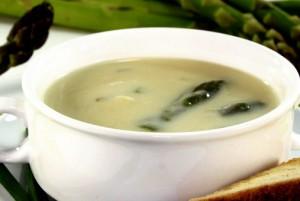 Receita de Sopa de Espargos