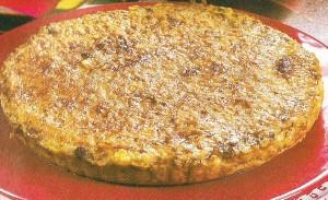 Receita de tarte de carne com açafrão e gengibre