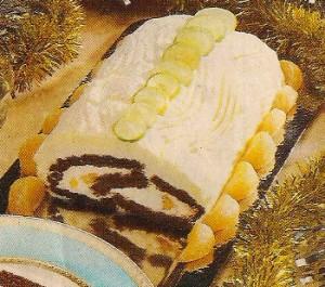Receita de Torta de Chocolate e Tangerina