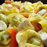Receita de Tortellini com Roquefort