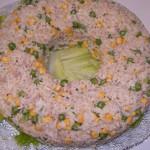 coroa de arroz com miscaros