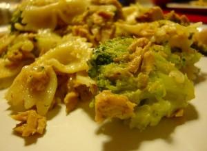 Receita de Lacinhos com brócolos e bacon