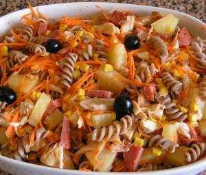Receita de Salada de Frango Assado