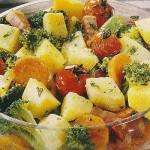 Receita de Salada Quente com batata-doce