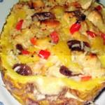 ananás recheado