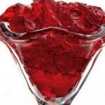 gelatina de romã