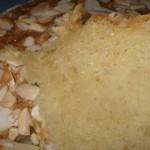 bolo de amendoa e canela