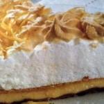 tarte de limao e coco