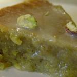 tarte de amendoa e pistacio