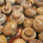 cogumelos no alhinho