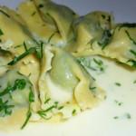 raviolis de ostras