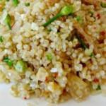 bacalhau com quinoa