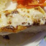 garoupa com crosta de mostarda