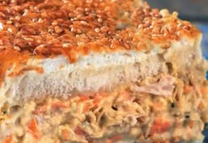 lentilhas em bolo gostoso