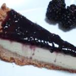 cheesecake de amoras