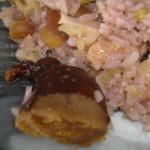 couve e farinheira aconchegadas em arroz