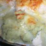 lombo de pescada com maionese especial