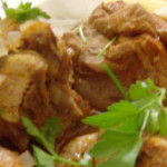 peru estufadinho com legumes