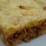 torta de batata com sardinha