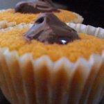 queques de chocolate e cenoura