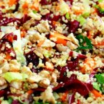 salada colorida de couscous