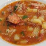 tradicional sopa da pedra