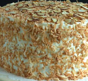 bolo de amendoa