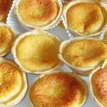 queijadinhas com amendoa