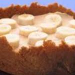 cheesecake fresco com manteiga de amendoim e banana