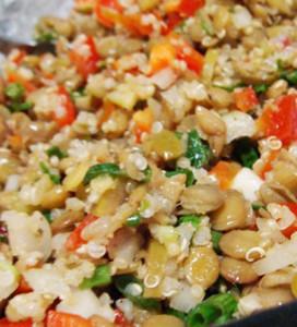 salada com mista da selva