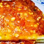 crepes de surpresas com molho de tomate
